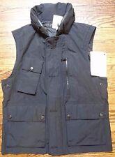BNWT Ralph Lauren Black Label Nautical Vest 2012 SAMPLE sz M/L SILVER CHROME