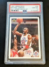 1991 Upper Deck All-Star Michael Jordan PSA 10