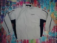 AG70 Vintage Reebok Classic Zip Up Track Suit Top Large
