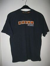 MEN'S GEORGE NAVY BLUE SHORT SLEEVE T-SHIRT. SIZE M.