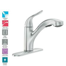MOEN Brecklyn - 87557 - Single-Handle Pull-Out Sprayer Kitchen Faucet in Chrome