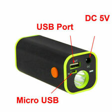 4x18650 Waterproof Battery Pack Storage Case Box For Bicycle Light Bike Torch