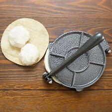 8 Inch Cast Iron Tortilla Press Roti Press Kit