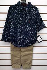 Boys English Laundry $48 2pc Shirt w /Jogger Pants Set Size 4 - 7
