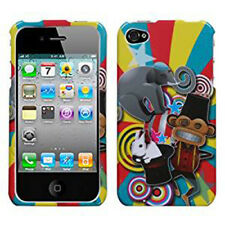 For Apple iPhone 4 4S HARD Protector Case Snap on Phone Cover Circus