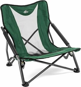 Camping Chair - Low Profile Folding Chair for Camping