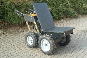 ⭐️🔥Flachladepritsche für Minidumper Motorschubkarre Radlader Muldenkipper🔥⭐️