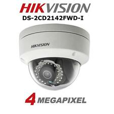 HIKVISION 4MP IP CCTV DS-2CD2142FWD-I Mini Dome Security Camera IR Network PoE