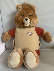 Vintage Teddy Ruxpin 1985 w/ Airship Tape - For Parts Or Repair