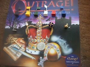 Outrage Steal The Crown Jewels Game Spare Replacement Playing Pieces Parts