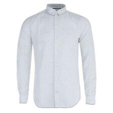 Camisas casuales de hombre blancas talla L