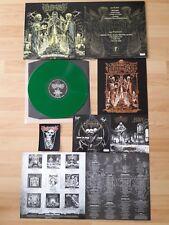 "REVEL IN FLESH – Relics Of The Deathkult 12"" LP (GREEN Vinyl) DIE HARD w/ PATCH"