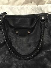 Balenciaga Leather Messenger Tote Bag For Men / Women