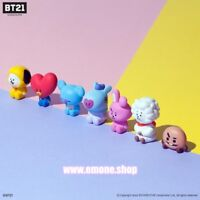 BTS BT21 X ROYCHE OFFICIAL MD Character MONITOR FIGURE with Tracking number