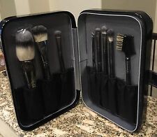 Crown Brush 8 Piece Brush Set With Hard Case - Great Gift