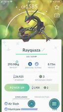 Pokémon Go Shiny Rayquaza Mini Account