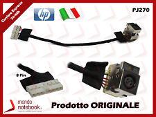 Connettore di Alimentazione DC Power Jack per Notebook HP Compaq CQ62 14Cm 8pin