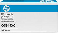 ORIGINALE HP 49x TONER q5949xc q5949x NERO LASERJET 1320 3390 3392 B NUOVO
