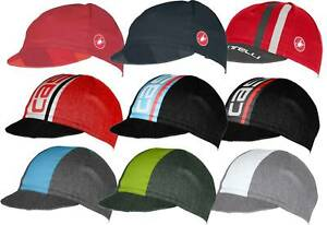Castelli Classic Cycling Caps 9 Different Colors and Styles : FREE SHIPPING