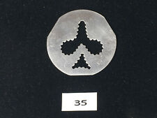 Vintage Mirro Cookie Pastry Press Plate ( 35 ) Disc Replacement Parts