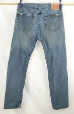 Men's Levi's 505 Straight Leg Denim Jeans (Tag 36x32) (Measures 34x30)