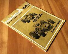 MINIATURE AUTO MAGAZINE- BRITAINS 1ST MODEL CAR MAGAZINE - DECEMBER 1966