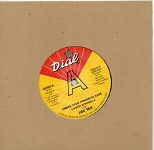 JOE TEX   UNDER YOUR POWERFUL LOVE (with strings) UK OUTTASIGHT/DIAL Ltd Ed DEMO