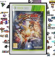 Street Fighter X Tekken MICROSOFT XBOX 360° NEUF NEW VERSION FRANÇAISE.