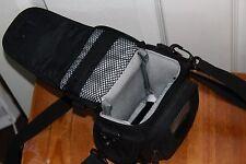 LowePro camera camcorder device case black strap VGC