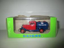 FORD V8 1934 CITERNE A ESSENCE TEXACO 1089  ELIGOR SCALA 1:43