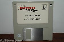 Software of the Month Club TV Now Feb. '95 Data Disk SMC198IT0T1