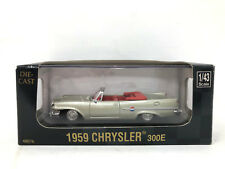 1959 Chrysler 300E Pewter 1/43 Scale Diecast City Cruiser Collection MIB Newray