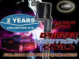 FORD FALCON V8 XR8 32v IGNITION PERFORMANCE COILS BA BF BossType & Mustang Set 8