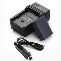 1100mAh NB-2L Battery + Charger For Canon Digital Rebel XT XTi EOS 350D NB-2LH