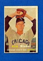 1957 Topps Baseball #352 ELLIS KINDER MID SERIES EX/EX-MT CHICAGO WHITE SOX