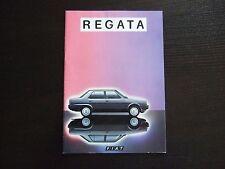 Prospekt Fiat Regata 1983