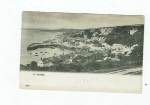 CORNISH POSTCARD EARLY PRINTED OF ST. MAWES