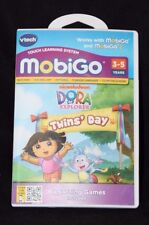 Vtech MobiGo Touch Learning System - Dora the Explorer Twins' Day