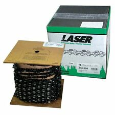 Chain Saw Chain 3/8 .050 Chisel 100 FT Laser Compares to Oregon 72LG
