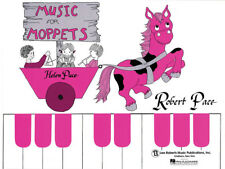 Music for Moppets Book 1 Teach Kids to Play Beginner Piano Keyboard Lessons NEW