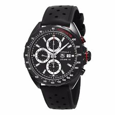 Tag Heuer Men's Formula 1 Black Dial Rubber Strap Automatic Watch CAZ2011.FT8024