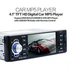 50W x 4Ch 4.1Inch TFT LCD 1Din In Dash Car Stereo Video MP5 Player FM Radio USB