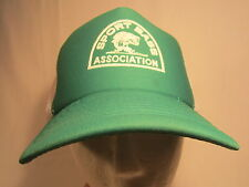 Men's Cap SPORT BASS ASSOCIATION Size: Adjustable [Z164a]
