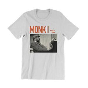 Thelonious Monk Palo Alto T-Shirt - Classic Jazz Musicians - John Coltrane