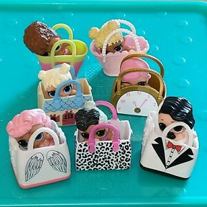 LOL Surprise Dolls Bundle Lil Sisters with Bags Various Series Job Lot x7