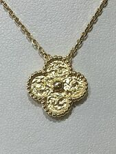 Van Cleef & Arpels Vintage Alhambra Pendant 18k Gold