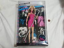 NEW Debbie Harry Barbie Collector Doll Ladies of the '80s debby hairy Blondie