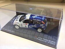 FORD Focus RS WRC SAN MARINO 2001 Andreucci - 1:43 DIECAST RALLY MODEL CAR IXO