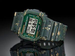 Casio G-Shock DWE 5600CC uomo limited edition verde militare carbon core guard