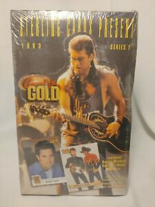1993 Sterling Cards Present Country Gold Series 1 Unopened Factory Sealed